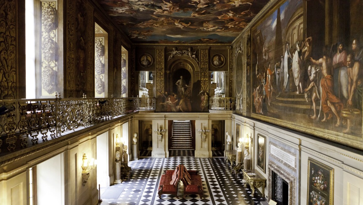 Interior View, Chatsworth House