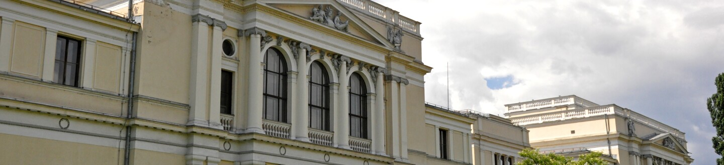 Exterior view of the National Museum of Bosnia and Herzegovina.