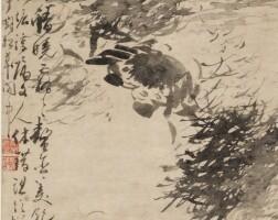 1008. 高其佩 1672-1732 | 螃蟹