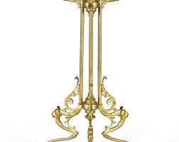 250. a neoclassical style gilt-bronze gueridon table, probably austrian, circa 1860/70 |