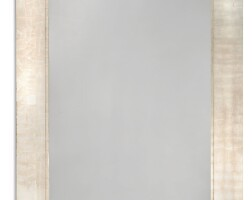 1216. a large silvered hall mirror modern