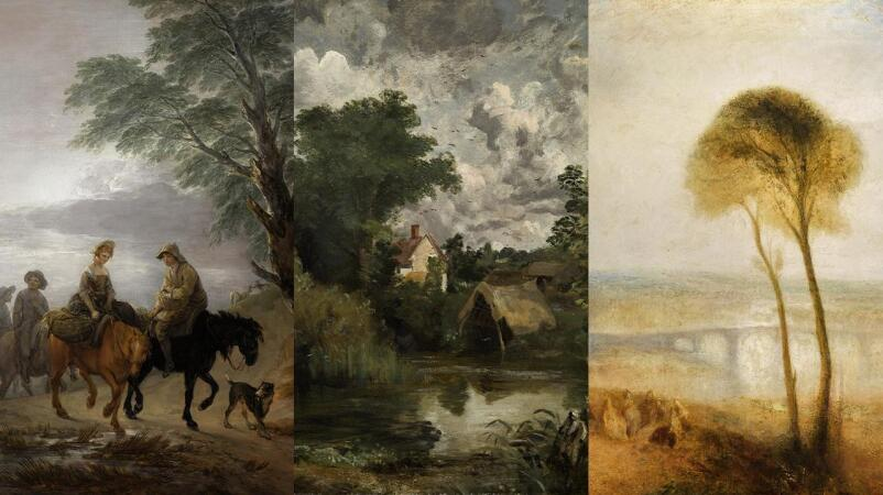 Gainsborough, Constable, Turner From Dawn Til Dusk