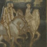 4. Sir Edward Burne-Jones A.R.A., and assistants