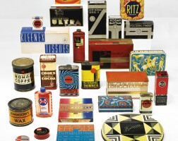 141. a thirty-piece american modern package design collection