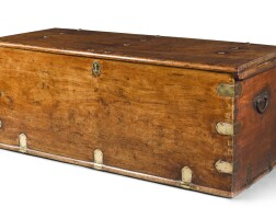 17. a dutch colonial camphor chest, 18th century |