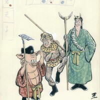 3. monkey, pig and sandy monk (1976)