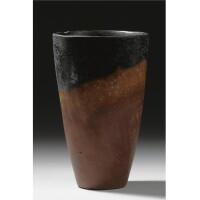 1. a black-topped red-ware jar, predynastic, nagada ii/iii, circa 3600-3000 b.c.