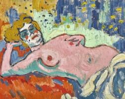 11. 毛利斯·德·弗拉芒克 | 《躺臥的裸女》