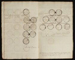 2. heraldic manuscript--ryley, william, and dethick, henry