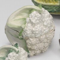 77. a chelsea cauliflower tureen and cover circa 1755