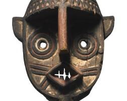22. bwa zoomorphic mask, burkina faso