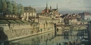 Bernardo Bellotto, Dresden, A View of the Moat of the Zwinger