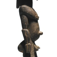 13. lobi male figure, burkina faso