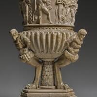 8. attributed to lorenzo bartolini (1777-1850)italian, florence, circa 1820-1850 | monumental vase