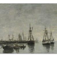 303. eugène louis boudin | portrieux, le matin, marée haute