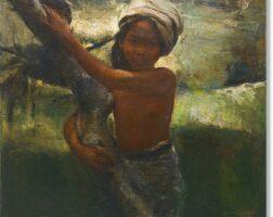 1060. romualdo battista federico locatelli   portrait of a balinese girl