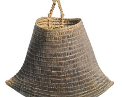 7. a bicornual basket or jawun, north east queensland late 19th century