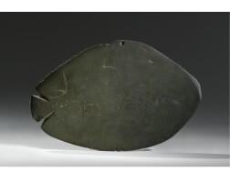 7. a schist cosmetic palette, predynastic period, nagada ii, circa 3500-3100 b.c.