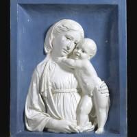 12. andrea della robbia florence 1435-1525 from a model luca della robbia florence 1399/1400-1482 circa 1490-1500