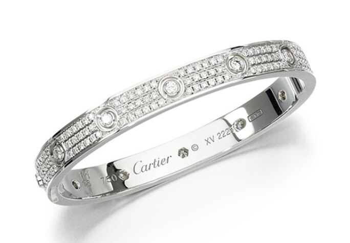 fbf3efd4eced8 The Story Behind Cartier's Iconic LOVE Bracelet | Jewelry | Sotheby's