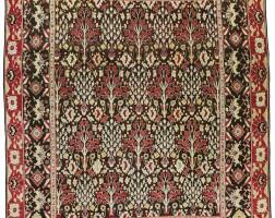 46. an agra 'tree' carpet, north india