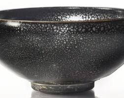 8. a black-glazed 'oil-spot' bowl northern song / jin dynasty