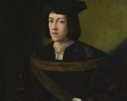 20. north italian school, first quarterof the 16th century   portrait of a young nobleman