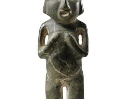 7. statue anthropomorphe en pierreculture chontal, état de guerreropréclassique récent, 300-100 av. j.-c. |