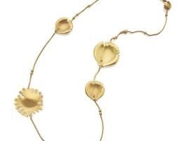 7. gold necklace, angela cummings for tiffany & co.