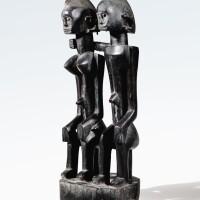 99. couple de statues, dogon, mali  