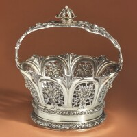 12. an austrian parcel-gilt silver torah crown, possibly victor nuber, circa 1890 |