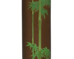 165. a cloisonné vase signed on a silver tabletkyoto namikawa, meiji period, late 19th century | a cloisonné vase