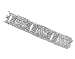 23. diamond bracelet, 1930s