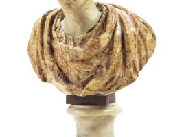 6. italian, late 18th centurybust of a young man |
