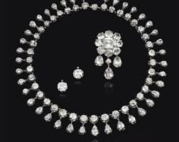 86. superb diamond parure