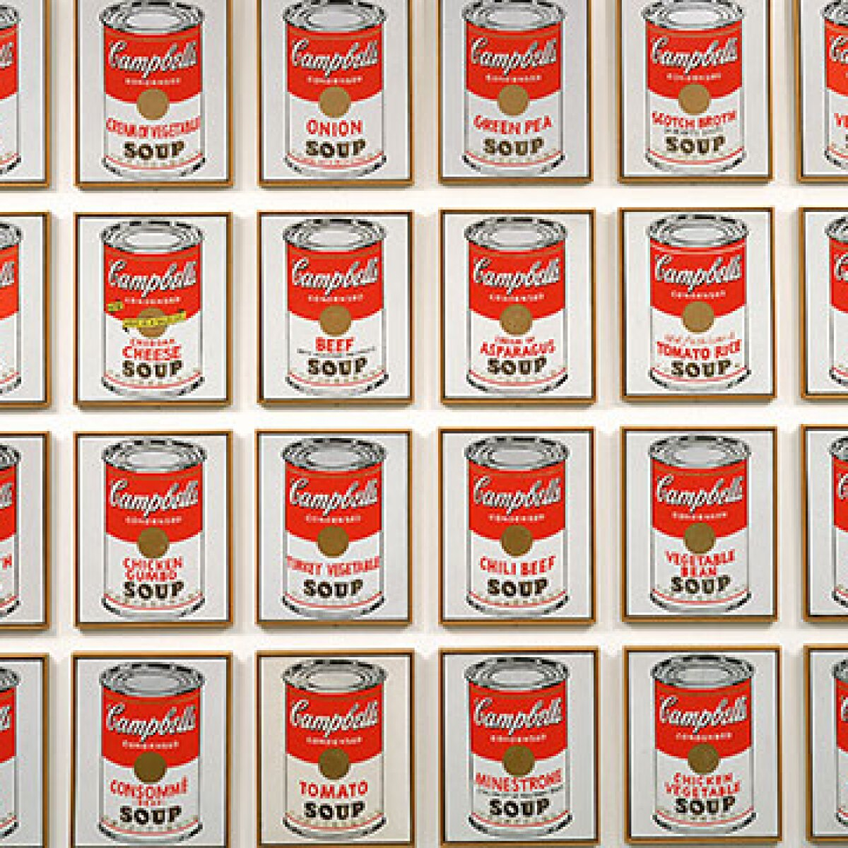 The Story Of Andy Warhol S Campbell S Soup Cans Prints Sotheby S