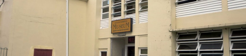 Exterior view of Guyana National Museum.