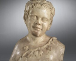 1. petit buste de bacchus