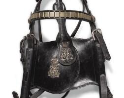 252. the principe di campofranco (1861-1924) silver mounted gala coach harness set, late 19th century |