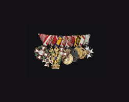 18. miniatures: austria, a great war period group of nine