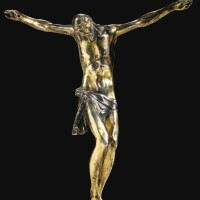 10. crucifix, italie, xviie siècle, d'après le modèle de giambologna (1529-1608)