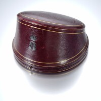 27. a collection of leather/velvet jewellery cases