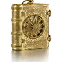 3. 德國製 | 極罕有鎏金座鐘備「stackfreed」彈簧制動機芯,年份約1580