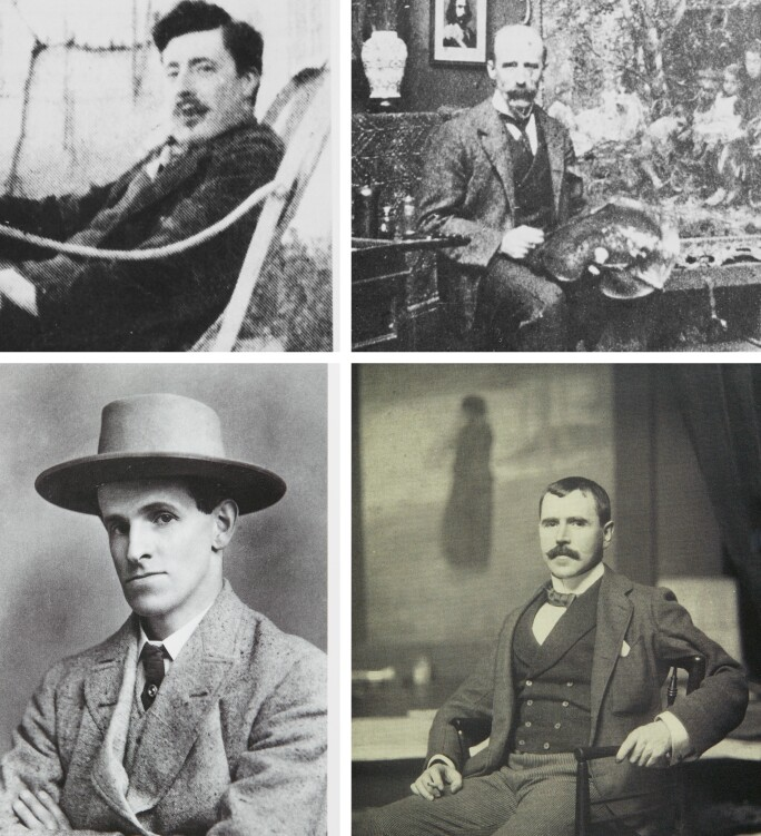 Four Modernist Painters: O'Conor, Osborne, Yeats and Lavery.
