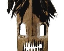 211. masque, komo, république démocratique du congo |