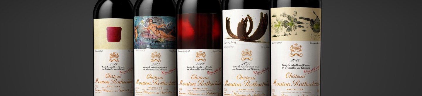 Five Château Mouton Rothschild vintages included in the Versailles Celebration Case, Photo © Deepix, Courtesy Château Mouton Rothschild (2).jpg