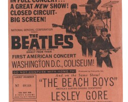 6. the beatles — the beach boys