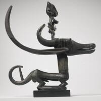 10. bamana antelope headdress (n'gonzon koun), mali