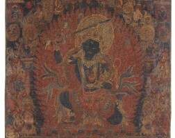 911. a paubha depictingchandamaharoshana nepal, circa 15th century |