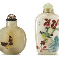 737. a suzhou agate snuff bottle qing dynasty, 18th – 19th century
